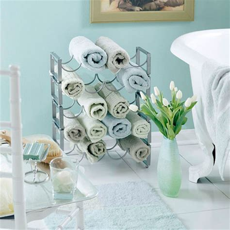 bathroom towel storage 12 creative inexpensive ideas