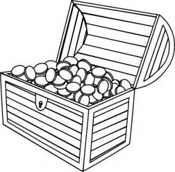 treasure chest coloring page treasure chest coloring pages getcoloringpages