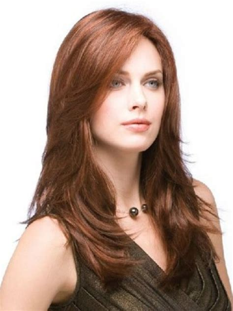 haircuts for round face long hair with layers layered hairstyles for round faces hairstylegalleries com