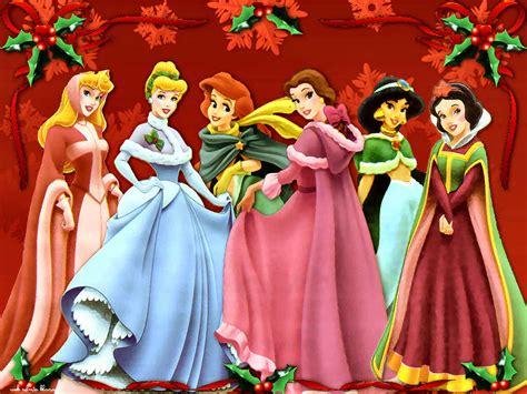 merry disney princesas disney en navidad
