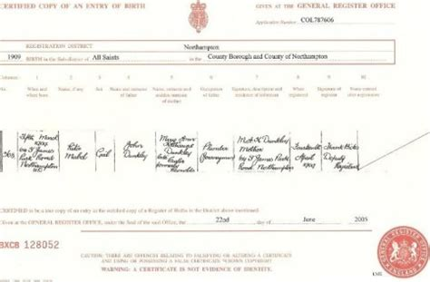 Birth Record Uk Guide To A Birth Certificate In And Wales