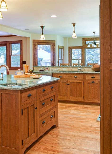 craftsman style kitchen cabinets craftsman style kitchen mission craftsman style pinterest