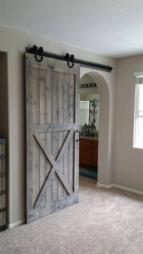 sliding barn door in house best 25 barn doors ideas on sliding barn