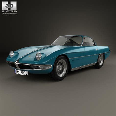 lamborghini 350 gtv lamborghini 350 gtv 1963 3d model humster3d