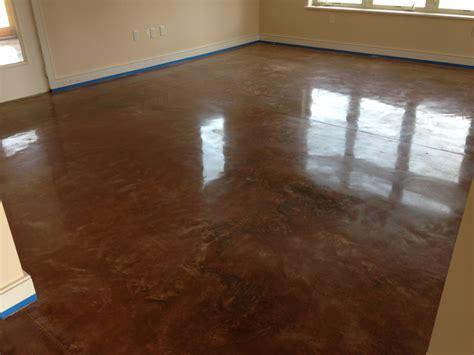 Residential Concrete Floors by Polished Concrete Floorgem Services Inc
