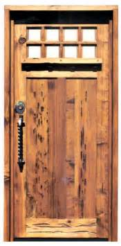 Solid Exterior Wood Doors Craftsman Wood Doors Greene Greene Solid Wood Doors Craftsman Doors