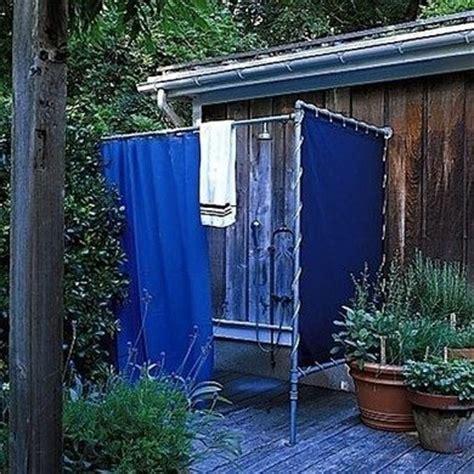 Outdoor Shower Curtains by Outdoor Shower Ideas 16 Diys To Beat The Heat Bob Vila