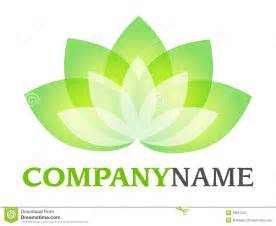 White Lotus Logo Lotus Logo Stock Photography Image 18647052