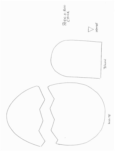 craft templates pics for gt chicken craft template