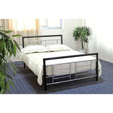 black headboard and footboard queen queen metal platform bed headboard footboard black
