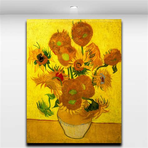 manufacturer famous sunflower painting famous sunflower online buy wholesale famous sunflower painting from china