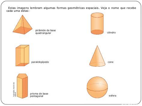figuras geometricas espaciais as formas geom 233 tricas espaciais