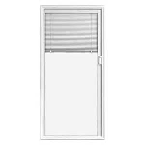 Entry Door With Blinds Between Glass Jeld Wen Full Lite Blinds Between Glass Low E Clear Entry