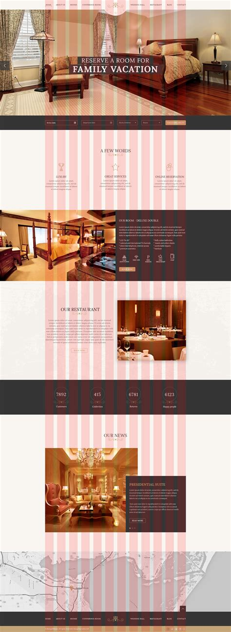 photoshop template room rangerelaxe hotel resort psd template by galliasoft