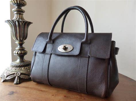 Mulberry Elgin Darwin Bag by Mulberry Ledbury In Chocolate Darwin Leather Sold