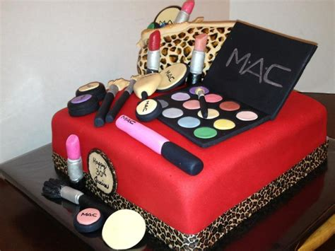 Make Birthday Cake by Mac Make Up Birthday Cake Cakecentral