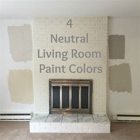 neutral paint colors for living room drew danielle design 4 neutral living room paint colors