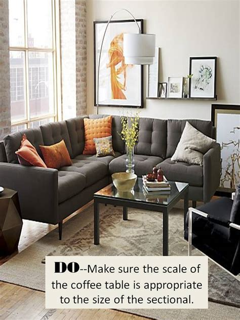 rug placement sectional design guide how to style a sectional sofa confettistyle