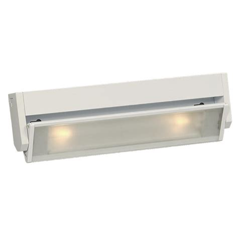 incandescent under cabinet lighting westek incandescent white strip light sl10hb the home depot
