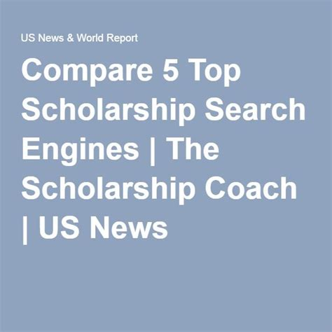 5 Best Search Engines 17 Best Ideas About Scholarship Search Engine On