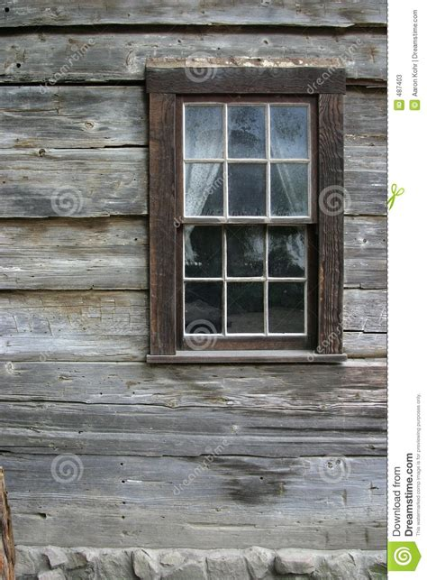 Rustic window 1 stock image image of window americana 487403