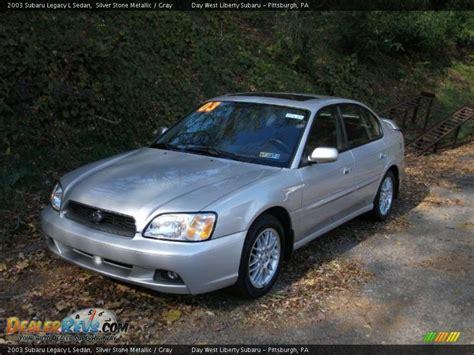 2003 Subaru Legacy Sedan by 2003 Subaru Legacy L Sedan Silver Metallic Gray
