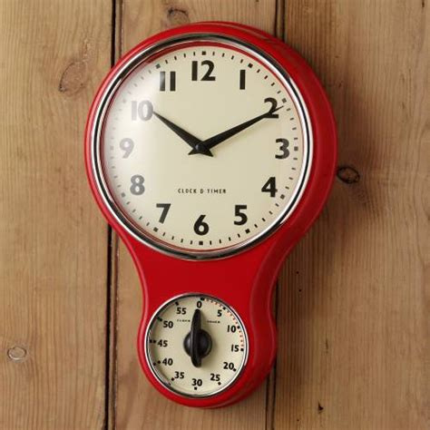 kitchen clocks retro kitchen clock timer red kitchen clocks timers