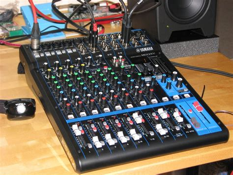 Mixer Yamaha Mg 12 Xu test yamaha mg12 xu universal mischpult amazona de