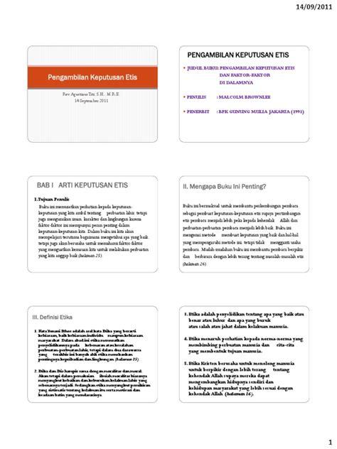 Buku Original Rukun Iman 64907510 110914 etika kristen agustinus titi pengambilan keputusan etis pdf