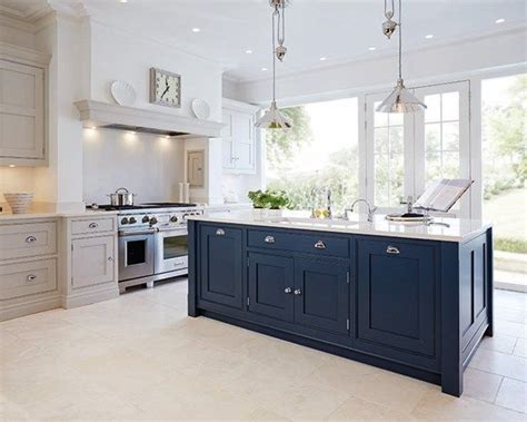 kitchen island cupboards best 25 blue kitchen island ideas on blue