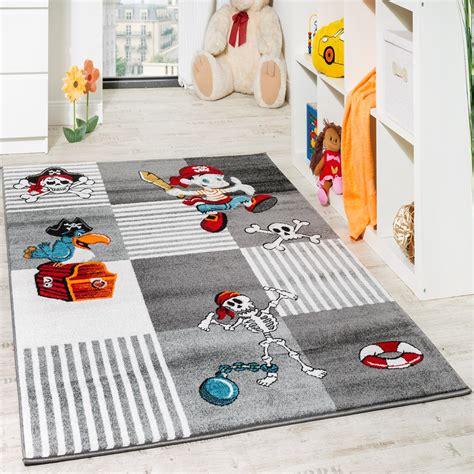 kinder teppich pirat mit papagei schatzkiste kinderzimmer - Teppiche Kinder