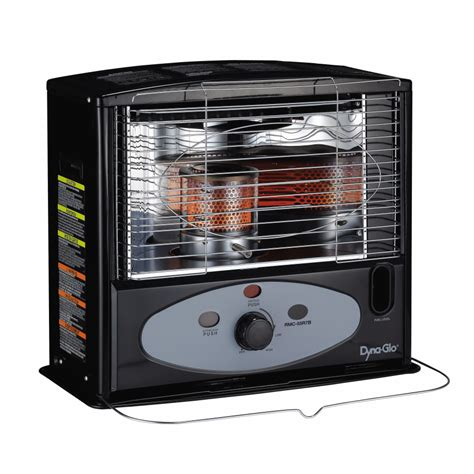 Small Kerosene Heater Home Depot Shop Dyna Glo 10 000 Btu Radiant Kerosene Heater At Lowes