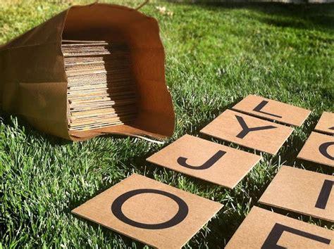 outdoor scrabble board best 25 outdoor ideas on outdoor