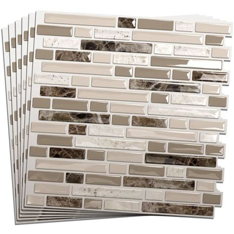 Smart Tiles Kitchen Backsplash Shops Mosaics And Vinyls On