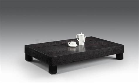 Modern Low Coffee Table Wenge Low Base Modern Coffee Table