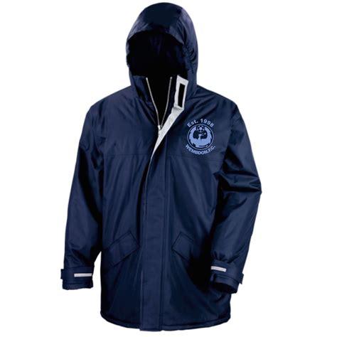 Jual Gembok Waterproof wembdon fc unisex waterproof coat jual branded clothing workwear uniforms