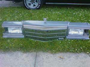 91 Cadillac Fleetwood Brougham Parts 90 91 92 Cadillac Fleetwood Brougham Header Panel Grille
