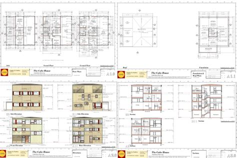 small cube home a touch of outside small houses small cube house floor plan