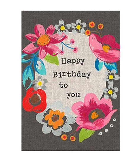 Card Happy Birthday To You kelleher happy birthday to you card kelleher