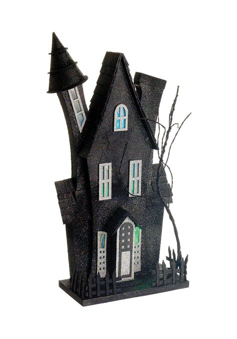 halloween haunted house music 22 quot haunted house w music and lights