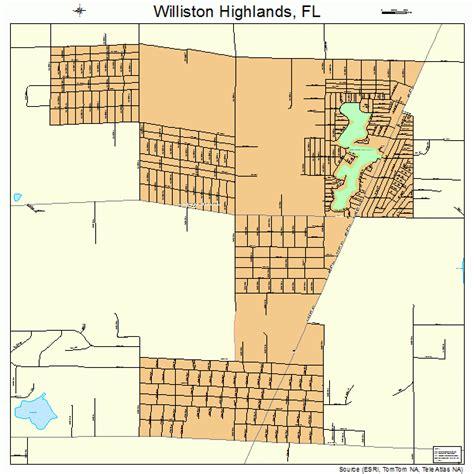 williston florida map williston highlands florida map 1277837
