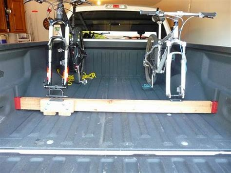 diy bike rack for truck bed show your diy truck bed bike racks mtbr com