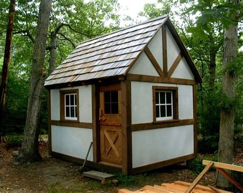 a new timber framed cottage cabin tiny house from david