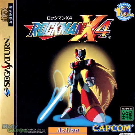 lade megaman juegos caratulas megaman x 4 japonesa saturn vs psx