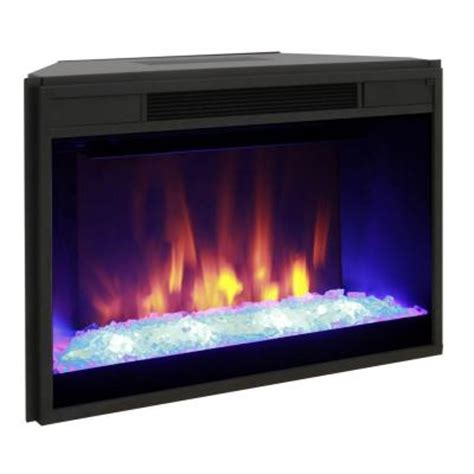 Home Depot Electric Fireplace Logs by Greenway 29 In Widescreen Electric Fireplace Insert With