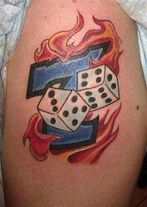 lucky dice tattoo designs 17 best ideas about dice on