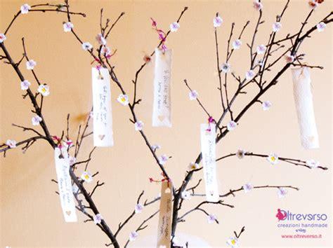 tutorial tableau albero guest book tree per i matrimoni country chic con fiori di