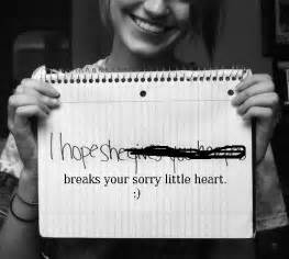 Revenge Break Up Letter Break Up Hate Heartbreak Jerk Revenge Image 65538