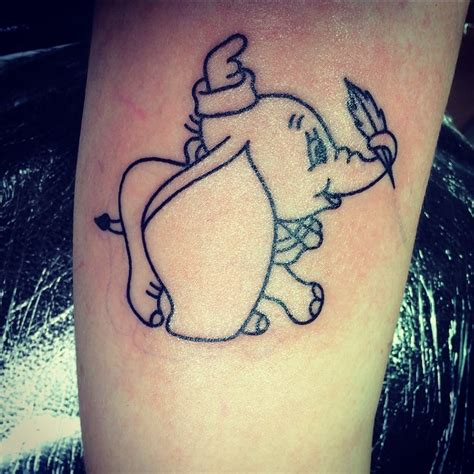 dumbo tattoo designs 12 awesome dumbo outline tattoos collection