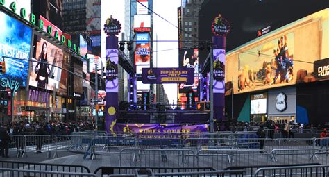 times square new years 2016 event recap mountain productions new year s stages